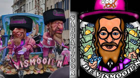 Rats, hooked noses & bags of money: Belgian carnival slammed for 'anti-Semitic' float (VIDEO)
