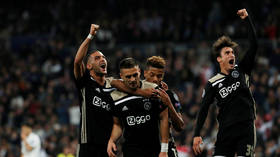 Inspired Ajax dump holders Real Madrid out of Champions League