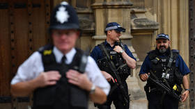Suspicious package found near an entrance to UK Parliament