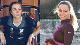 'So happy': Teen racer Sophia Floersch returns to track months after breaking back in horror smash