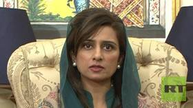 Reversal of postures? Hina Rabbani Khar, former foreign minister of Pakistan