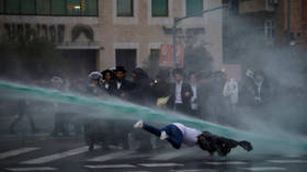 'To prison but never to the army!' Jerusalem police crush ultra-Orthodox Jews' protest (VIDEOS)