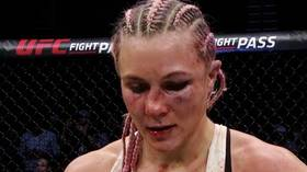 Busted up: Yana Kunitskaya suffers badly broken nose in UFC Wichita win