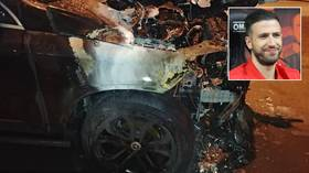 Foggia fireball: Arsonists torch Italian footballer's car in 'vile' attack after latest defeat