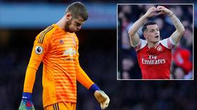'Was De Gea going back to Madrid?!' Fans troll Man United goalkeeper after defeat to Arsenal