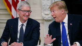 Trump says his 'Tim Apple' gaffe was just more fake news