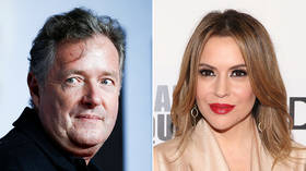 Piers Morgan 'identifies as hippo' in response to Alyssa Milano's 'trans, immigrant, gay' tweet