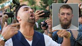 'I was scared for my life': Fan says UFC star McGregor tricked him before smashing phone in Miami