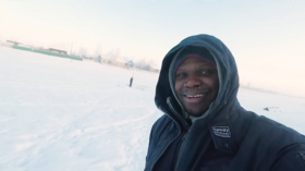 'My face is freezing': African man blogs from Russia's coldest region (VIDEO)