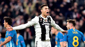 'A living football god': Reaction as Ronaldo takes center stage with Champions League hat-trick