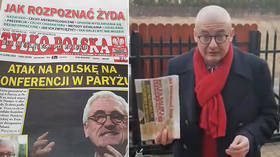 'How to spot a Jew': Front-page headline in Polish paper openly sold in parliament sparks fury