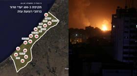 Israel hit 100 'terror targets' in Gaza in response to rocket attacks – IDF