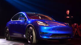 Bringing sexy back: Elon Musk unveils Tesla's 2nd electric SUV Model Y