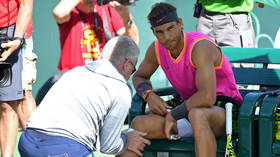 OUT! Nadal withdraws from Indian Wells semi due to knee injury, Federer through to final by walkover