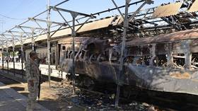 4 killed in train blast in Pakistan's Baluchistan province - police