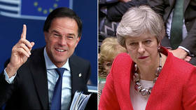 'Tis but a scratch': Dutch PM likens unyielding May to Monty Python's limbless knight over Brexit