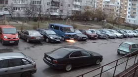 'Possessed' minibus starts own engine & self-destructs in Russia's Kaliningrad (VIDEO)