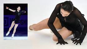 US figure skater accused of deliberately slashing Korean rival with blade at world champs