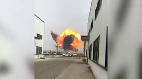 Dozens dead, hundreds injured in huge explosion at Chinese chemical plant (PHOTOS, VIDEO)