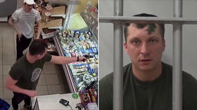 How (not) to steal a million: Would-be criminal loses gun trying to rob a store (VIDEO)