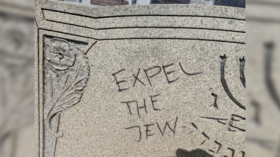 'This is MAGA country': Jewish cemetery defaced with anti-Semitic graffiti in MA (PHOTOS, VIDEOS)