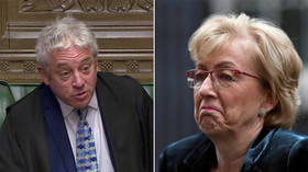 'Grow up, for goodness sake!' WATCH Speaker Bercow rebuke Tory MP & clash with House leader Leadsom