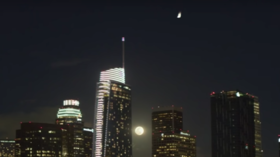 Meteor or alien invasion? Los Angeles skies set ablaze – nothing to panic about, police say (VIDEOS)