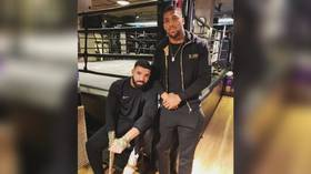 Anthony Joshua makes 'Drake Curse' vow, gets called out by fans for facts fail