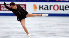 Price of success: Olympic champ Zagitova skated with severe blisters at nationals, photos reveal