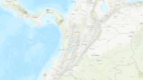 Magnitude 6.1 earthquake strikes western Colombia