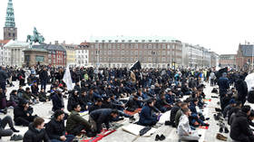 Koran-burning protest meets hardline Islamist rally in Denmark – Twitter roasts both