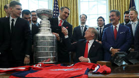 Trump hails 'Alexander the Great' Ovechkin as Caps bring Stanley Cup to the WH