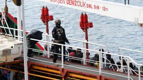 Maltese troops storm merchant ship hijacked by migrants off Libyan coast (VIDEO)