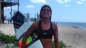 Surfing tragedy: Brazilian champion killed after lightning strikes water