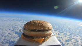 Football club baffled as 'space burger' lands at training ground (VIDEO)