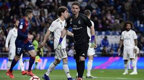 Zidane picks son Luca in goal for Real Madrid vs Huesca – but he concedes after just 3 MINUTES