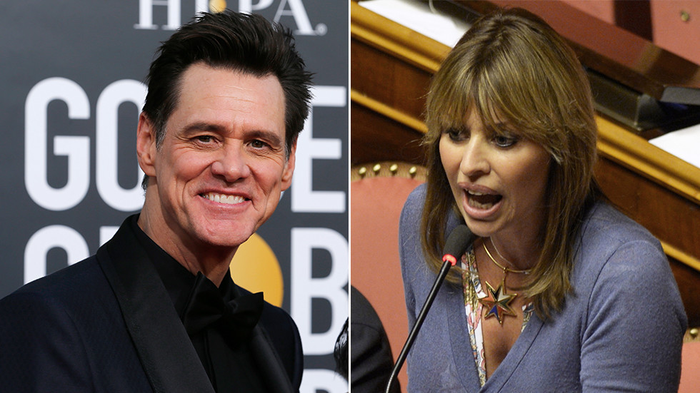 Why not draw US crimes? Mussolini's granddaughter rips Jim Carrey over sketch of fascist dictator