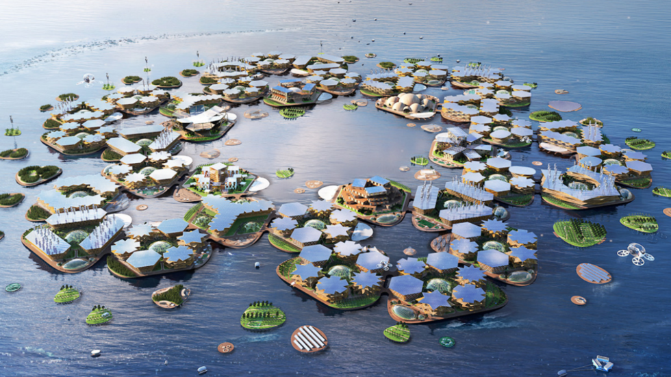 UN backs plans for hurricane-proof floating cities (PHOTOS)