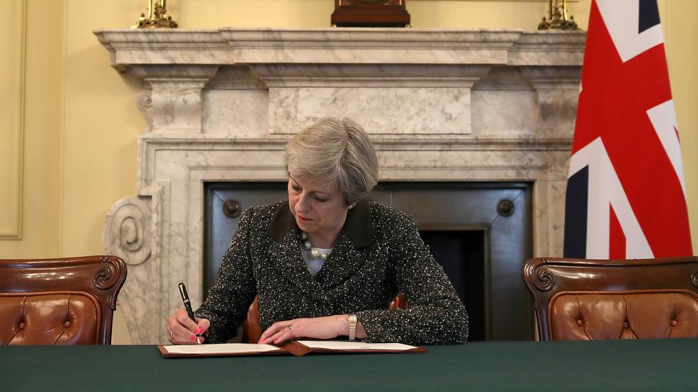 UK prime minister asks EU to delay Brexit until June 30