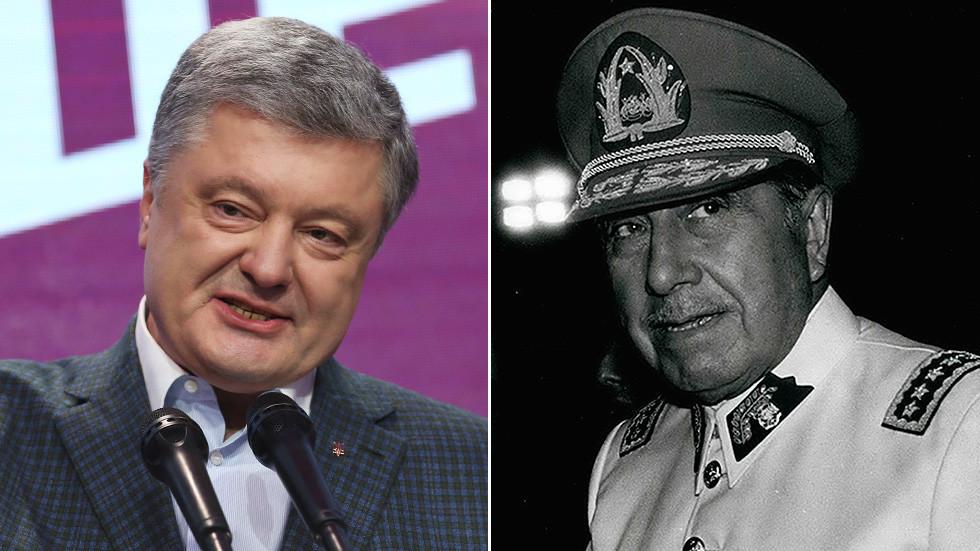 Between circus and civil war: Poroshenko aide trolls election frontrunner with Pinochet pic