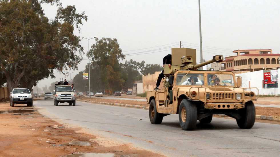 'Airstrikes' & clashes: Libya's Haftar forces claim control of Tripoli airport as rivals 'bomb' them