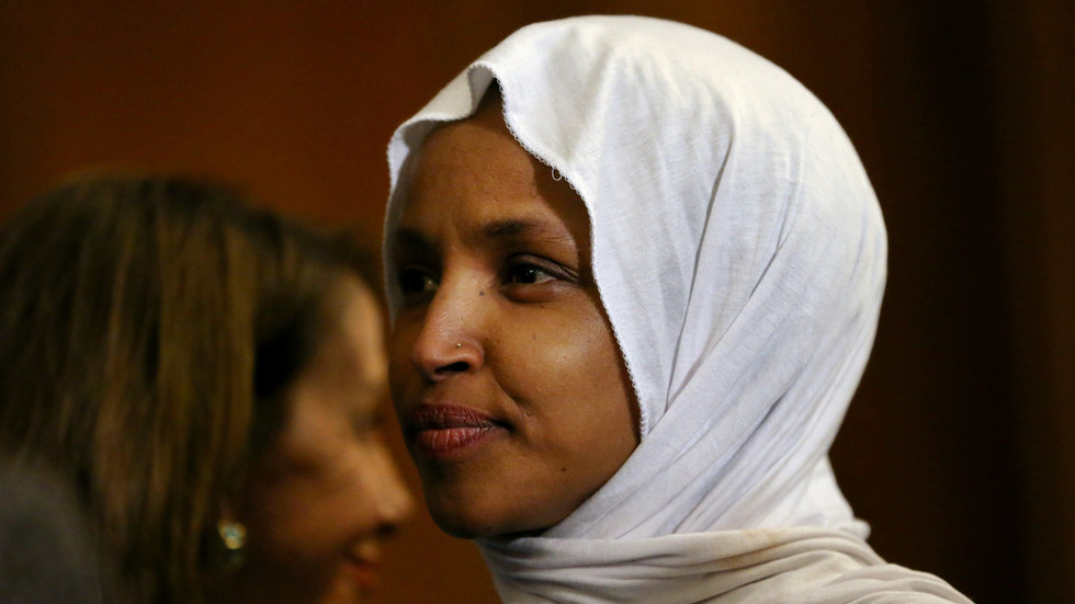 Rep. Ilhan Omar cites Islam holy text in response to Trump mocking her for not liking Israel