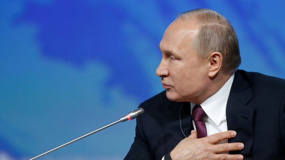Putin on Mueller investigation: It's 'total nonsense' targeted at domestic US audience