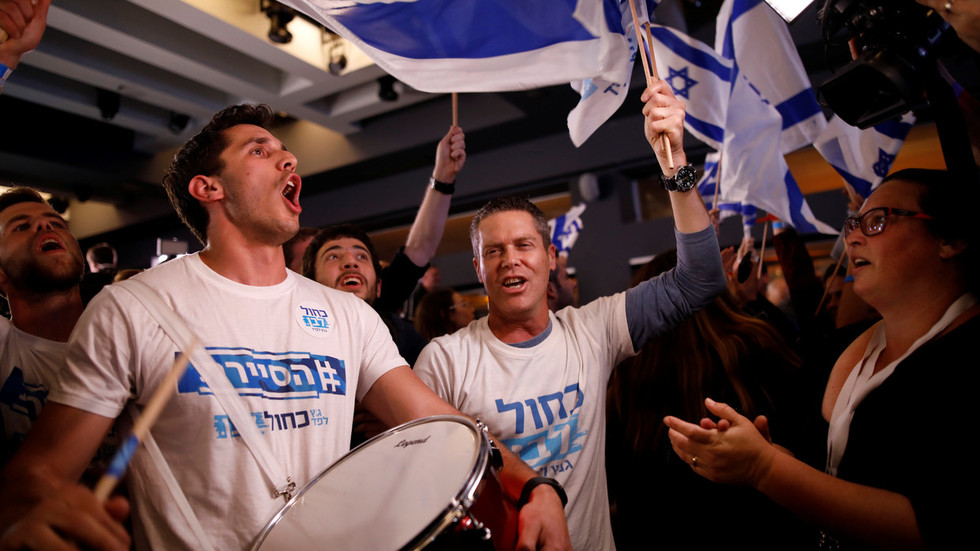 PM Netanyahu and Gantz both declare victory as Israeli exit polls show tight results