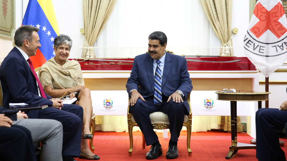 Maduro reaches agreement with Red Cross on aid deliveries after 'extraordinary' meeting