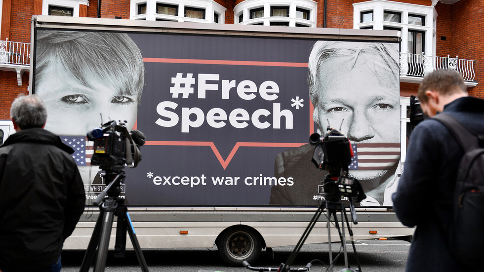 Assange arrested in relation to a US extradition warrant - UK police