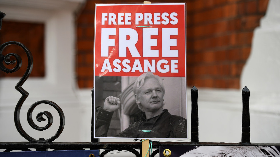 '5 years for ATTEMPT to crack a password?' Journalists, whistleblowers slam US Assange charge