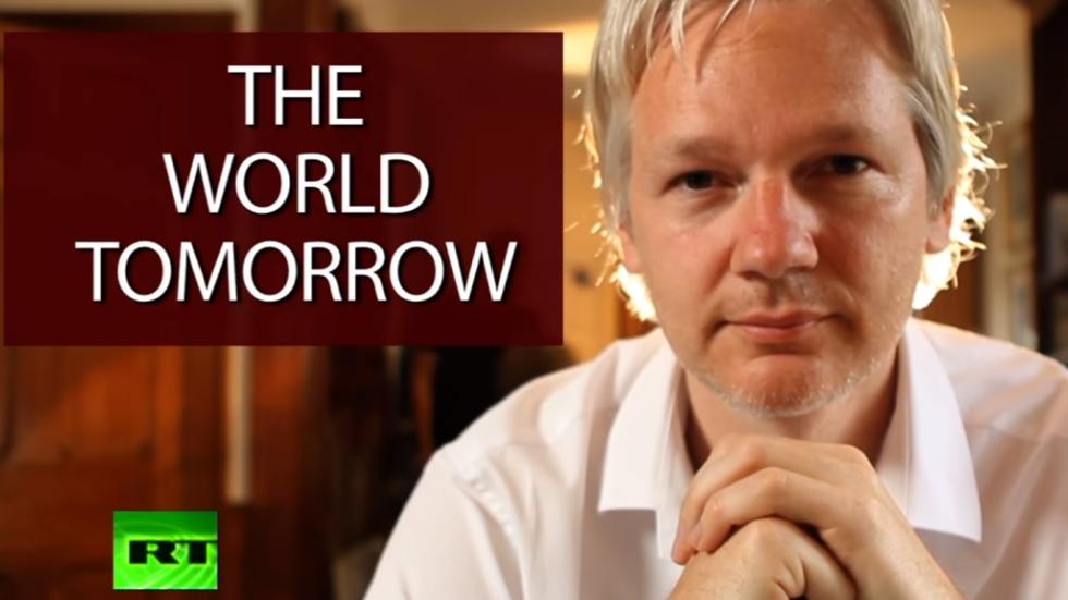 WATCH: Julian Assange's 'The World Tomorrow' show on RT