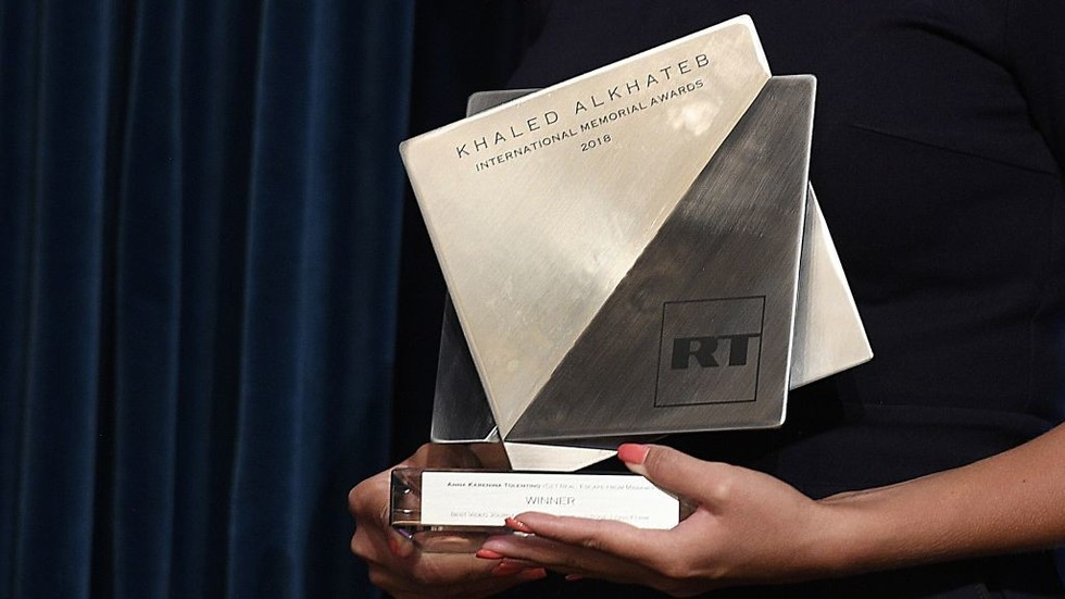 Honoring best in war journalism: RT starts accepting entries for 2019 Khaled Alkhateb Memorial Award