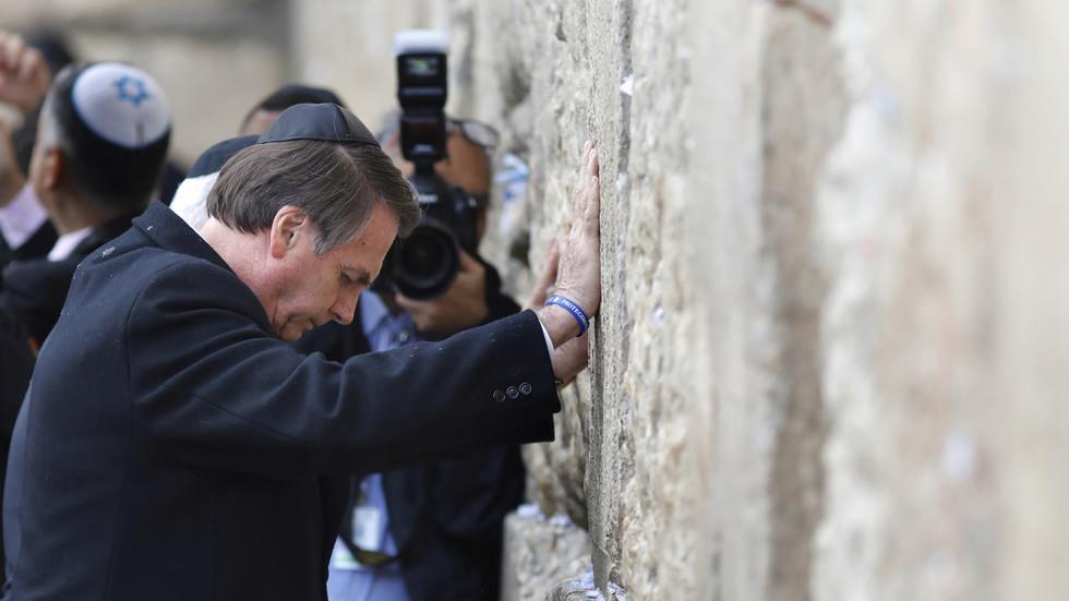 Brazil's Bolsonaro claims Holocaust remarks had 'no historical context' after Israeli backlash